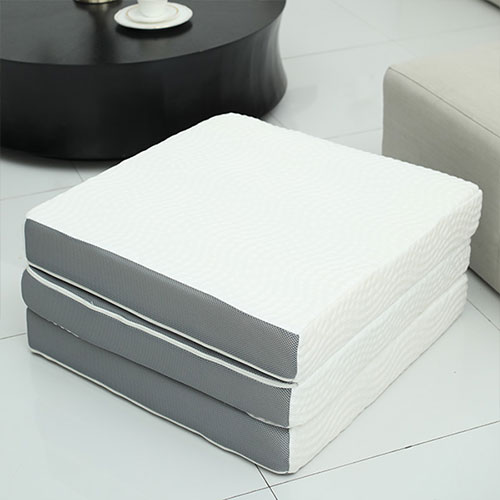Memory Foam 3 Fold Bed Mattress