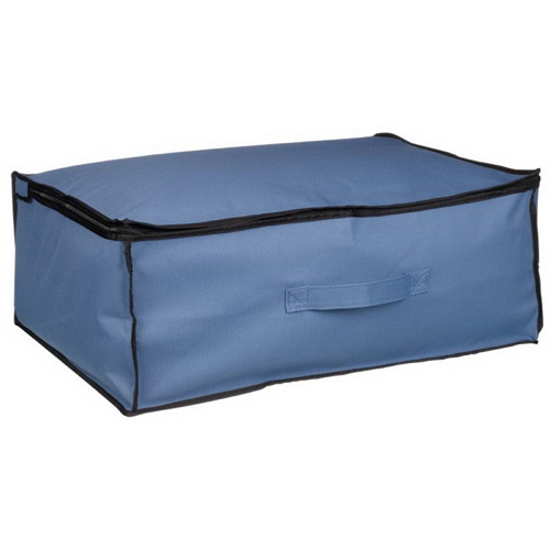 Black Non-woven Binding Underbed Storage Bag