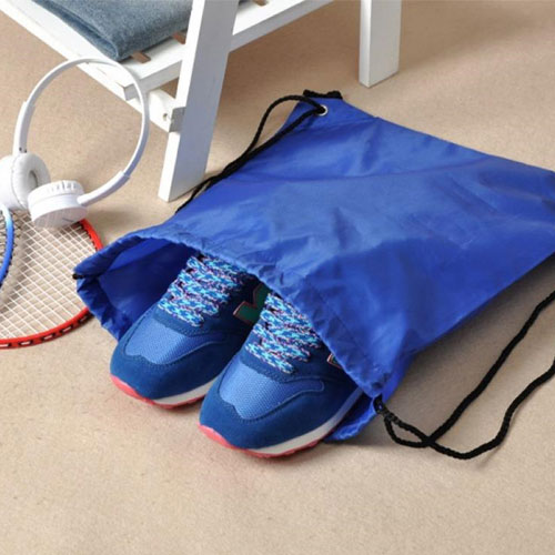 Blue Polyester 1-piece-structure Shoes Storage Bag
