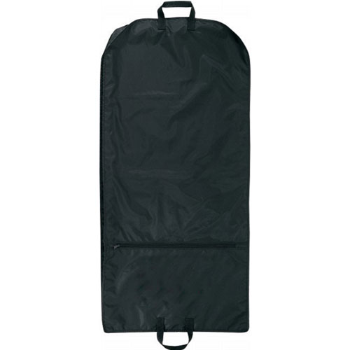 Black Nylon Binding Garment Bag
