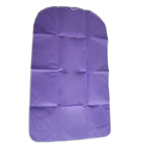 Purple Non-woven 75gsm Garment Bag