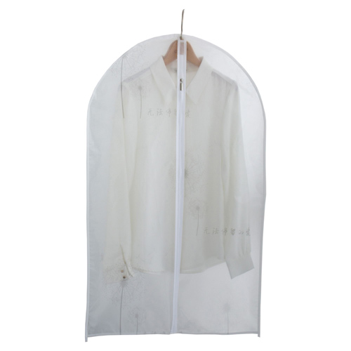 Frosted PEVA Women's Garment Bag