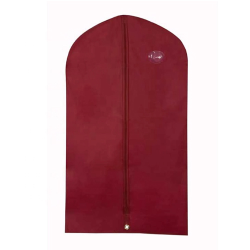 Red Non-woven Ladies Garment Bag