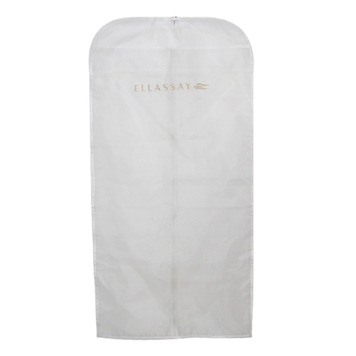 White Non-woven 75gsm Women's Garment Bag