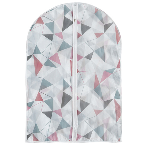 White PEVA Women's Garment Bag