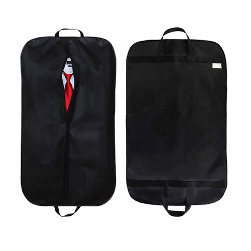 Black Polyester Binding Business Suit Bag