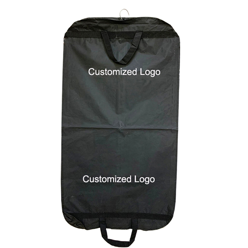 Black PEVA Garment Bag