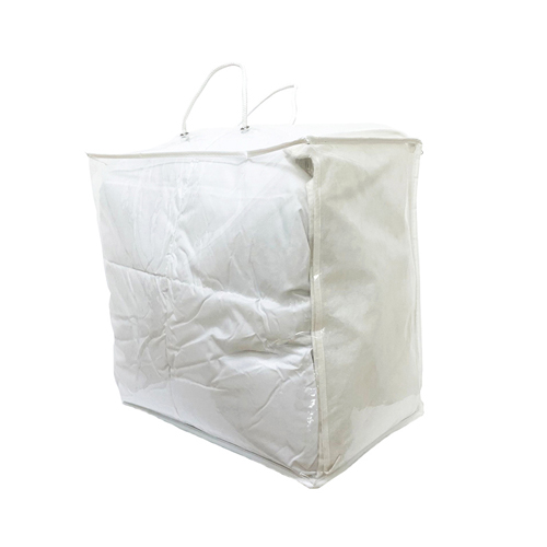 Grey Non Woven 75gsm Binding Quilt Packaging Bag Texpack